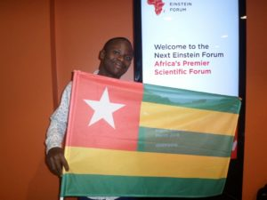 Dodzi AGLAGO ambassadeur du Togo au Next Einstein Forum