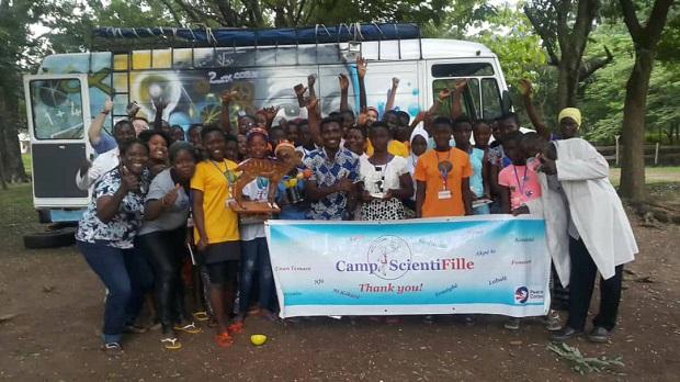 Camp ScientiFille 2018